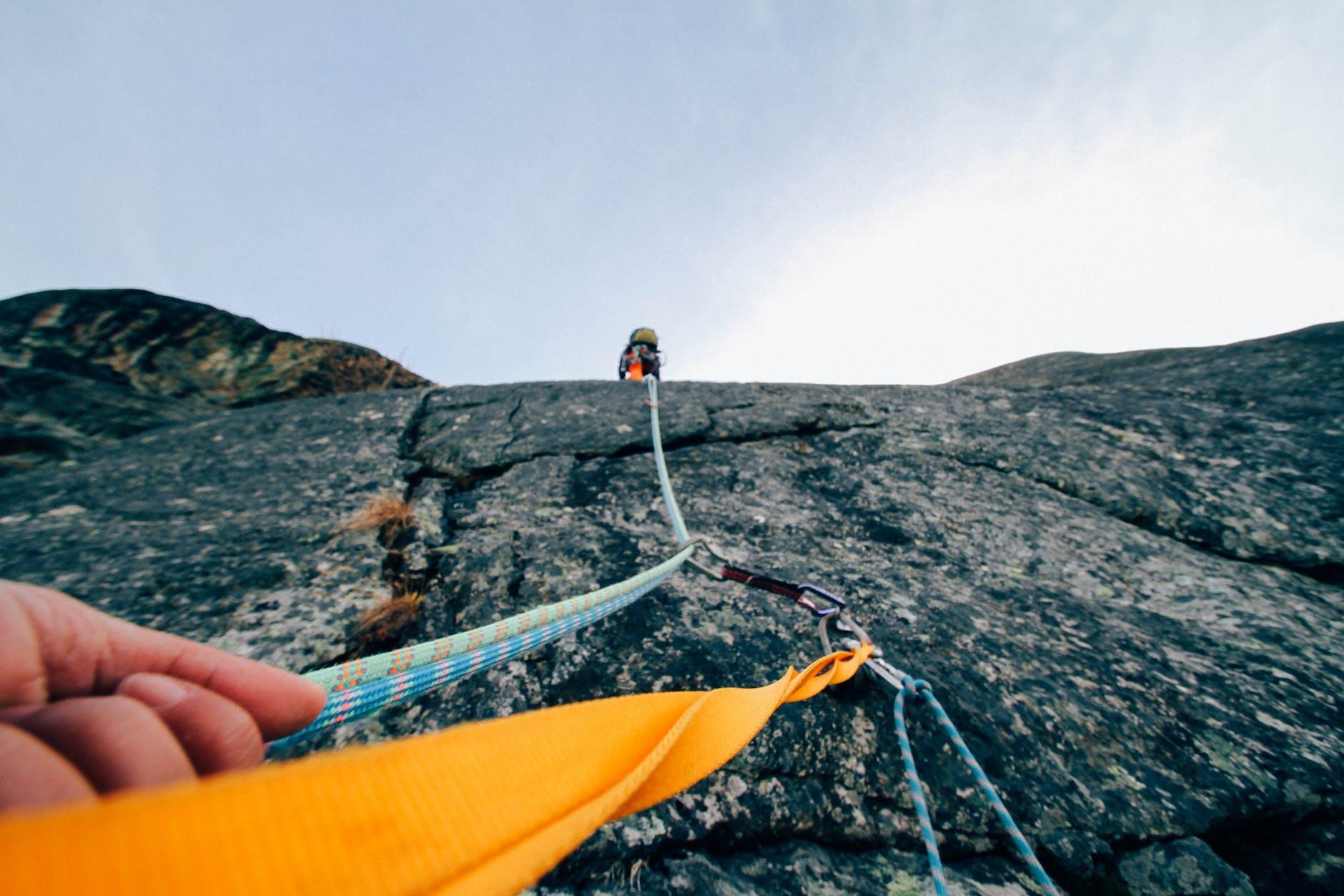 action adventure climbing daylight